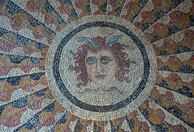 Head of Medusa Mosaic