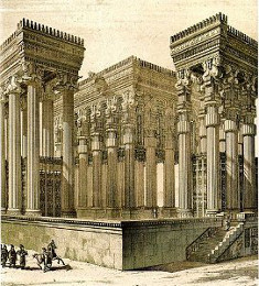 Ancient Persian Art And Architecture Reconstruction of the Apadana