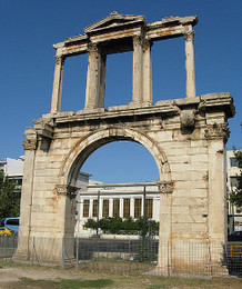 Triumphal Arch in Athens (Arch of Hadrian)
