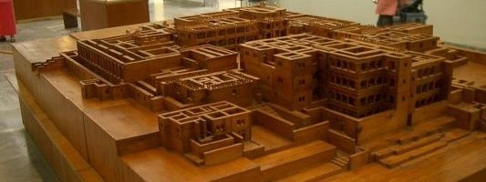 Reconstruction of Knossos Palace