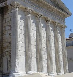 Engaged Columns (Maison-Carrée)