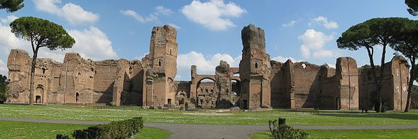 Ruins of the Baths of Caracalla