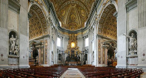 Baroque architecture essential humanities for Baroque style church