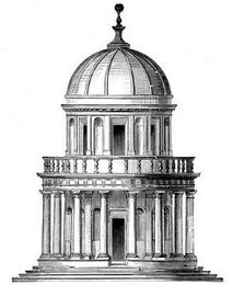 Diagram of the Tempietto