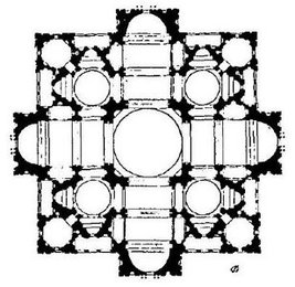 Bramante's Plan for St Peter's