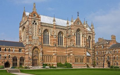'Polychrome Brick Gothic' Building (Keble College Chapel, Oxford)