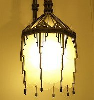 Art Deco Light Fixture