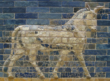 Relief Sculpture on the Ishtar Gate