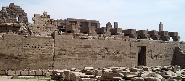 Ruins of an Egyptian Temple