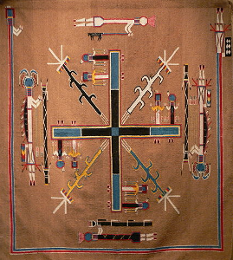 Southwest Sand Painting