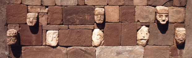 Sculpted Faces at Tiwanaku
