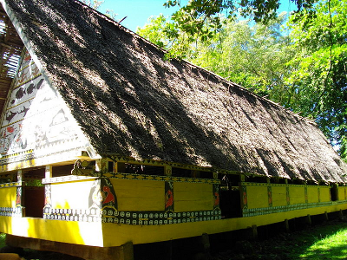 Traditional Oceanian Building