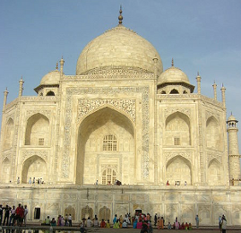 Taj Mahal (central mausoleum)