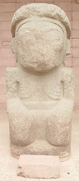 Pillar Statue at Tiwanaku