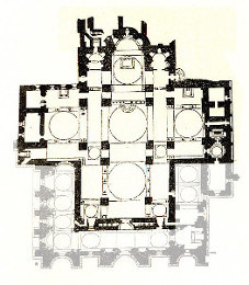 Plan of St Mark's Basilica