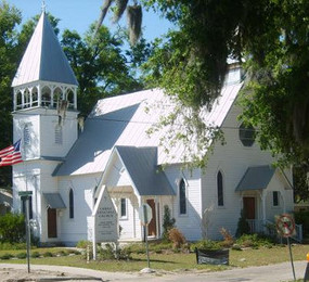 Carpenter Gothic Church (Florida)