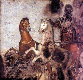Greek fresco painting