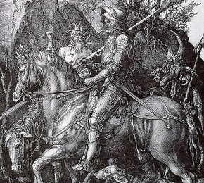 Knight, Death, and the Devil (engraving), Dürer