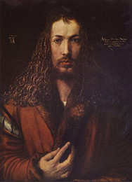 Self-portrait (1500), Dürer