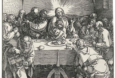 Last Supper (woodcut), Dürer