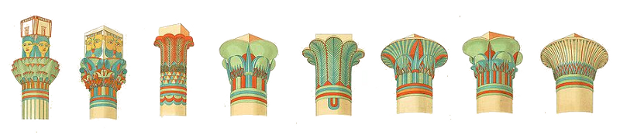 Ancient Egyptian Column Capitals