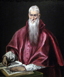 Saint Jerome as Scholar, El Greco