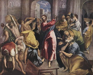 Temple Incident, El Greco