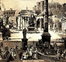 Reconstruction of a Roman Forum