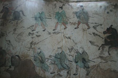 Ancient Chinese Tomb Mural