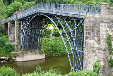 Iron Bridge (England, 18th c.)