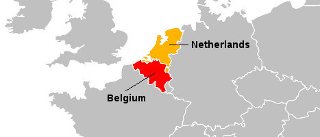 The Large Modern Nations of the Low Countries Region