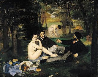 <em>Luncheon on the Grass</em>