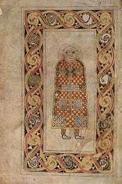 Illumination from an Insular Style Manuscript (English-made)