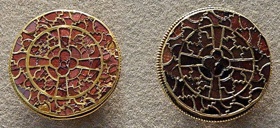 Merovingian Metalwork (brooches)