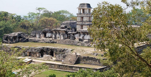 Ruins of a Mesoamerican Palace