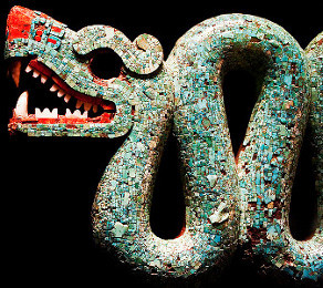 Mesoamerican Statue (double-headed serpent)