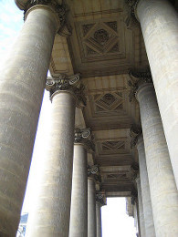 Modern Example of a Double Peristyle