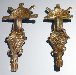 Ostrogothic Metalwork (brooches)