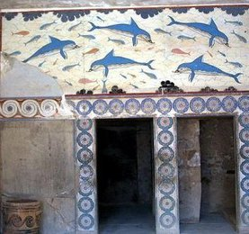 Dolphin Mural (Knossos)