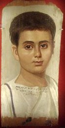 Mummy Portrait from Roman Egypt