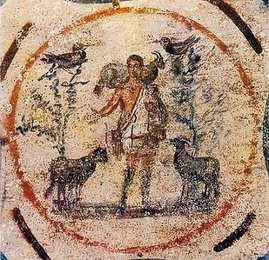 Early Christian Mural