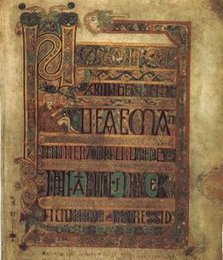 Illumination from the Book of Kells