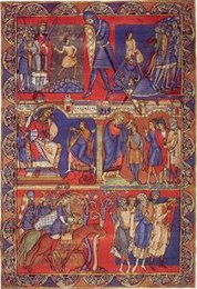 Illumination from the Winchester Bible