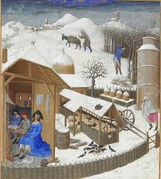 February (Très Riches Heures)
