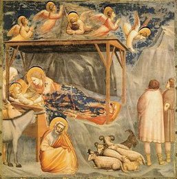 Nativity (Life of Christ mural series, Arena Chapel, Padua), Giotto
