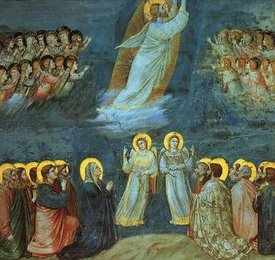 Ascension (Life of Christ mural series, Arena Chapel, Padua), Giotto