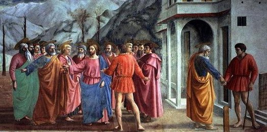 Tribute Money, Masaccio