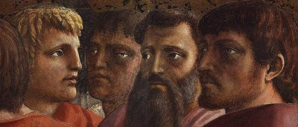 Tribute Money (detail), Masaccio