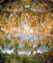 Last Judgement, Michelangelo