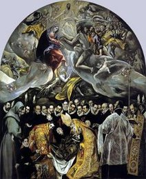 Burial of Count Orgaz, El Greco